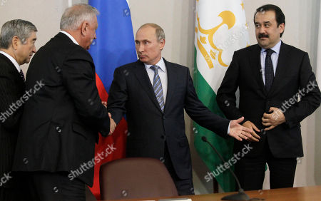 Editorial picture of Russia Putin, St.Petersburg, Russia