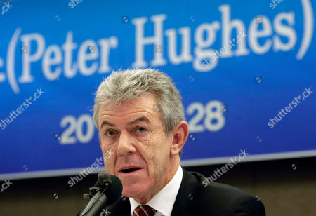 Peter Hughes Outgoing British Ambassador to North Korea Peter Hughes speaks during a press conference in Seoul, South Korea