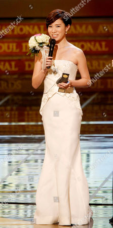 Charmaine Sheh Hong Kong actress Charmaine Sheh speaks after she won online voting for popular Asian actor and actress on Yahoo during the Seoul International Drama Awards 2011 ceremony in Seoul, South Korea