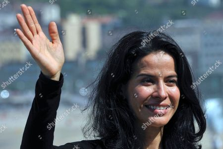 Arcelia Ramirez Mexican actress Arcelia Ramirez waves during the photo call to promote her film ' 'Las Razones del Corazon', The Reasons of the Heart', at 59th San Sebastian Film Festival Cinema in San Sebastian northern Spain