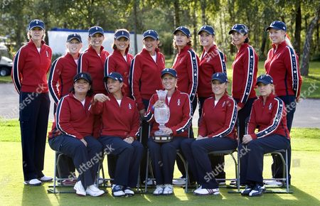 American team: Paula Creamer, Cristie Kerr, Morgan Pressel, Juli Inkster, Stacy Prammanasudh, Pat Hurst, Natalie Gulbis, Brittany Lincicome, Angela Stanford, Sherri Steinhauer, Nicole Castrale, Laura Diaz, captain Betsy King, assistant captain Beth Daniel. The 2007 Solheim Cup takes place in Halmstad, Sweden, from 14-16 September