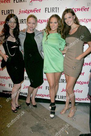 Michelle Trachtenberg, Marley Shelton, Jennifer Lopez and Maggie