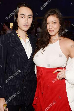 Naomi Shimada and guest