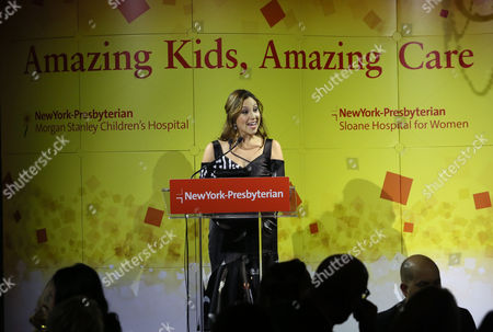 Toby Milstein Toby Milstein, grand-daughter of Vivian and the late Seymour Milstein, announces a gift for the new Infant Cardiac Unit at NewYork-Presbyterian/Morgan Stanley Children's Hospital at the annual Amazing Kids, Amazing Care dinner, in New York