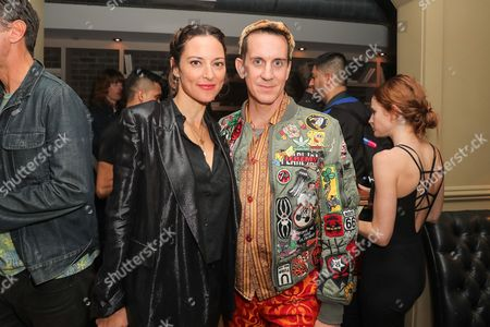 Stock Picture of Lola Glaudini, Jeremy Scott