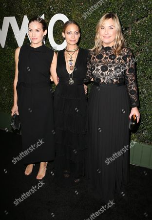 Katherine Power, Nicole Richie and Hillary Kerr