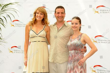 Helene Joy, Michael Nardone and Laurence Leboeuf From left, Canadian actors Helene Joy, Michael Nardone and Laurence Leboeuf attend the 'Durham County' Photocall during the 2011 Monte Carlo Television Festival held at Grimaldi Forum on in Monte-Carlo, Monaco