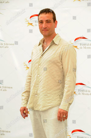 Stock Image of Michael Nardone Canadian's actor Michael Nardone attends the 'Durham County' Photocall during the 2011 Monte Carlo Television Festival held at Grimaldi Forum on in Monte-Carlo, Monaco