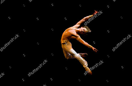 Daniil Simkin American Ballet Theatre's Daniil Simkin performs the Le Corsaire pas de deux during the first Buenos Aires Ballet Gala in Buenos Aires, Argentina