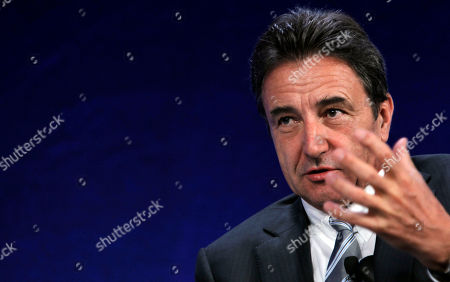 Gerhard Roiss Gerhard Roiss, CEO of OMV Austria, gestures during his speech at the World Economic Forum, WEF, in Vienna, Austria, on . The Forum takes place from June 8 to 9, 2011 in Austria's capital