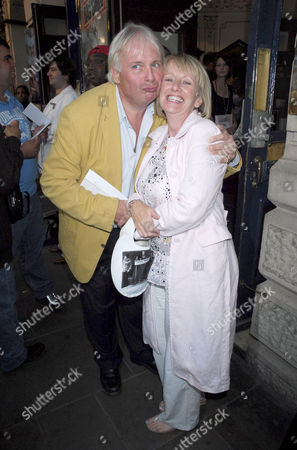 Christopher Biggins and Victoria Alcock