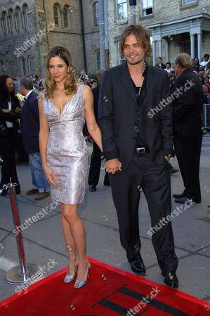 Mira Sorvino and husband Chris Backus