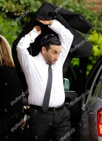 Alex Winehouse British singer Amy Winehouse's brother Alex arrives at Golders Green Crematorium, north London, . The soul diva, who had battled alcohol and drug addiction, was found dead Saturday at her London home. She was 27