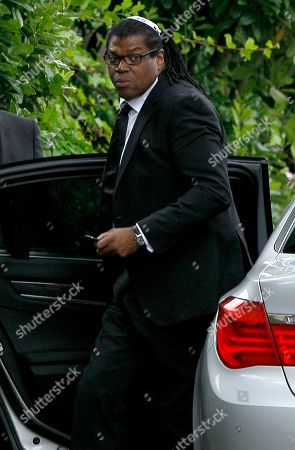 Raye Cosbert Manager Raye Cosbert arrives at Southgate progressive Synagogue for the funeral ceremony of British singer Amy Winehouse, London, . Winehouse, who had battled alcohol and drug addiction, was found dead Saturday at her London home. She was 27