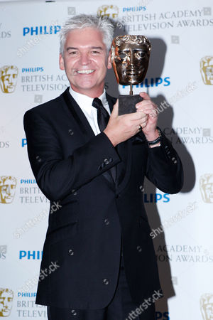 Philip Schofield The Cube won best Entertainment Programme award at The British Academy Television Awards at The Grosvenor House Hotel, London
