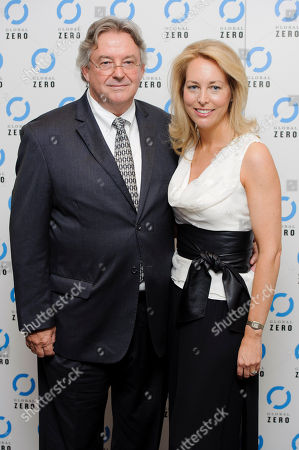 Valerie Plame Wilson, Joseph C. Wilson Former U.S. CIA Operations Officer, Valerie Plame Wilson and husband Joseph C. Wilson, arrive for the UK film premiere of Countdown to Zero at a central London venue