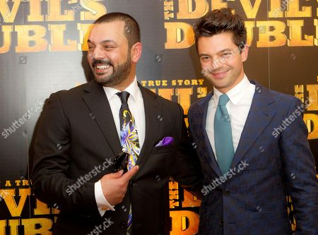 Latif Yahia, Dominic Cooper Latif Yahia and British actor Dominic Cooper, right, arrive at a central London cinema, for the UK Premiere of the Devil's Double, a film based on the story of Yahia, as he was forced to become the double of Saddam Hussein's son