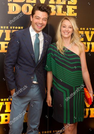 Ludivine Sagnier, Dominic Cooper British actor Dominic Cooper and French actress Ludivine Sagnier arrive at a central London cinema, for the UK Premiere of the Devil's Double, a film based on the story of Latif Yahia, the man who was forced to become the double of Saddam Hussein's son