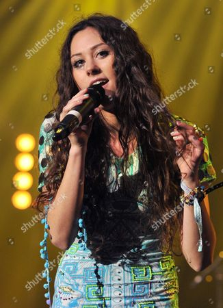 Stock Image of Eliza Dolittle Eliza Dolittle performs at the Isle of Wight music festival