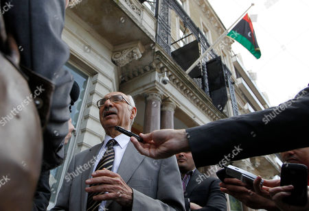 Mahmud Nacua Libya National Transitional Council new Charge d'Affairs to United Kingdom Mahmud Nacua speaks to the media outside the Libyan Embassy in London, . World leaders said Monday the end is near for Moammar Gadhafi's regime and began looking at Libya's future without the man who has held power there for 42 years