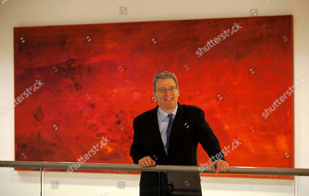 Stock Image of Tom Albanese The CEO of Rio Tinto Tom Albanese poses for photographs at the company's offices in the City of London, . Mining giant Rio Tinto's six-month profit has jumped 30 percent to a record $7.6 billion. The Anglo-Australian company said in a statement Thursday that underlying earnings for the six months to June 30 were up 35 percent to $7.78 billion