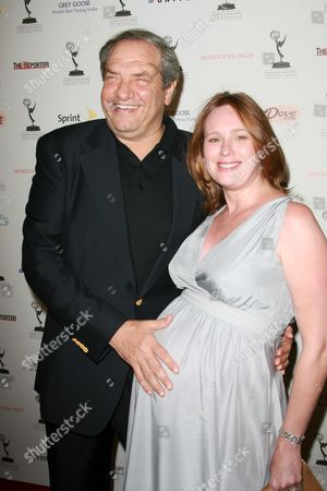Dick Wolf and wife Noelle Lippman