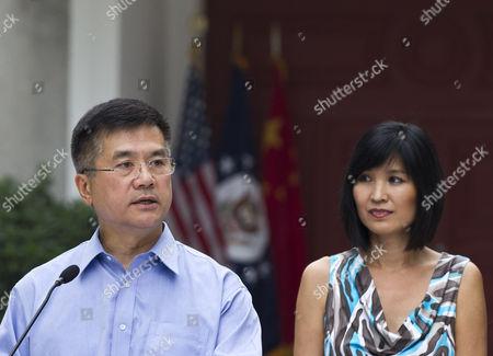 Editorial photo of China US Ambassador, Beijing, China