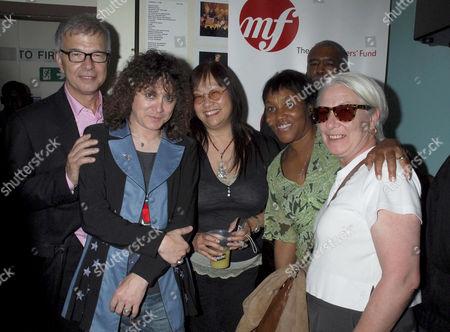 Tony Visconti, T. Rextasy tribute band - Danielz, May Pang and Gloria Jones