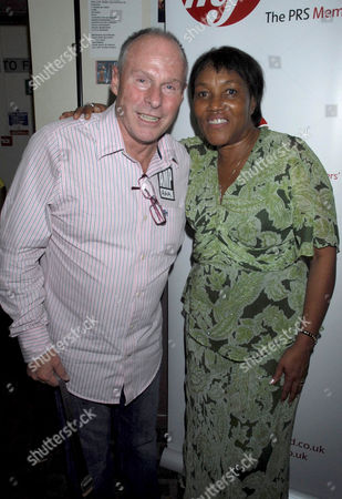 Chris Townson and Gloria Jones, widow of Marc Bolan