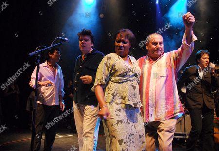 Ray Dorset, guest, Gloria Jones and Eric Hall