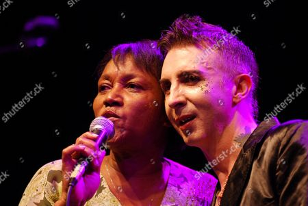 Gloria Jones, widow of Marc Bolan and Marc Almond