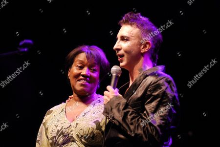 Stock Picture of Gloria Jones, widow of Marc Bolan and Marc Almond