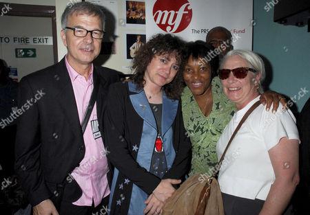 Tony Visconti, T. Rextasy tribute band - Danielz and Gloria Jones