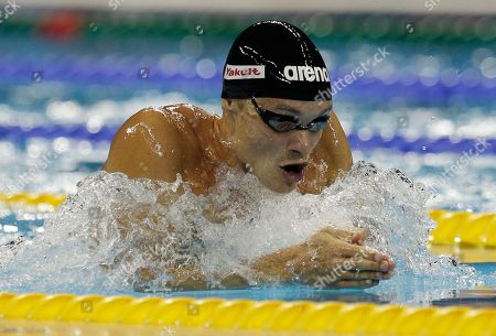 Eric Shanteau Eric Shanteau of the U.S. swims in a men's 200m Breaststroke semifinal at the FINA Swimming World Championships in Shanghai, China