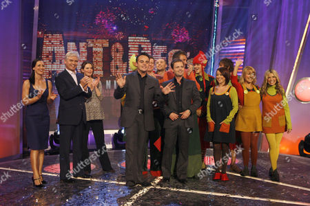 Anthony McPartlin and Declan Donnelly with guests: Max Beesley, Jonathan Wilkes, Kirsty Gallacher, Phillip Schofield, Lisa Scott-Lee, Melinda Messenger, Malandra Burrows, Susie Dent and McFly