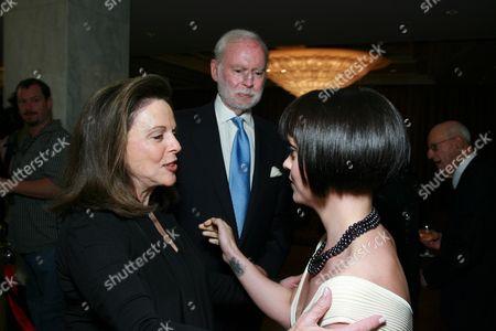 Wendy Goldberg, Leonard Goldberg and Christina Ricci