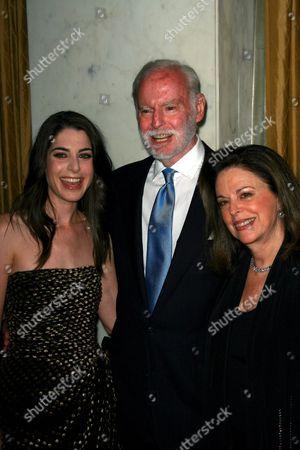 Leonard Goldberg, Wife Wendy and Daughter