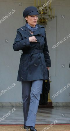 Chantal Jouanno France's Sports Minister Chantal Jouanno as he leaves the Elysee Palace in Paris, after the weekly cabinet meeting, in Paris