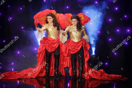 Cecilia Bartoli Italian classical singer Cecilia Bartoli, right, stands next to her life-size wax model displayed at Paris' Grevin Museum in Paris