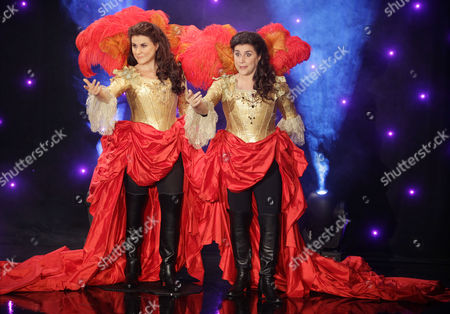 Cecilia Bartoli Italian classical singer Cecilia Bartoli, right, reacts as she stands next to her life-size wax model displayed at Paris' Grevin Museum in Paris