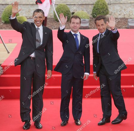 Editorial image of France G8 Summit, Deauville, France