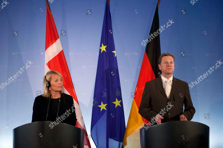 Lene Espersen, Guido Westerwelle Denmark's Foreign Minister Lene Espersen, left, and her German counterpart Guido Westerwelle brief the media after a meeting at the Foreign Ministry in Berlin on