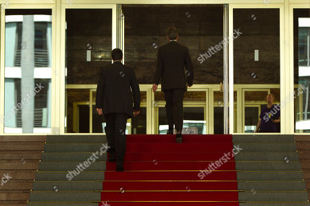 Guido Westerwelle German Foreign Minister Guido Westerwelle, right, walks back to his office after a news conference with his counterpart from Denmark Lene Espersen, not seen, at the Foreign Ministery in Berlin, on