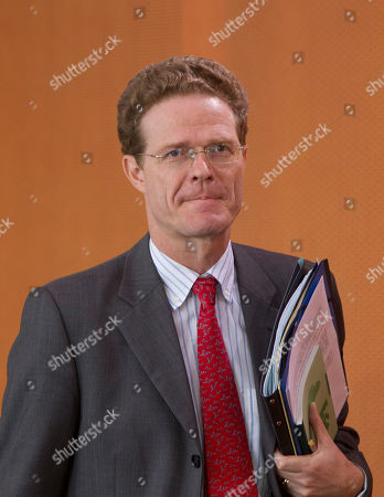 Stock Picture of Nikolaus Meyer-Landrut arrives at the weekly cabinet meeting at the chancellery in Berlin on