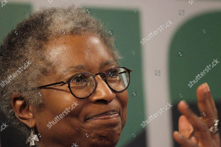 Alice Walker U.S. human rights activist and author Alice Walker speaks during a news conference about an international flotilla to blockaded Gaza, in Athens, . Organizers say Israel is pressuring Greece to halt the ships' departure