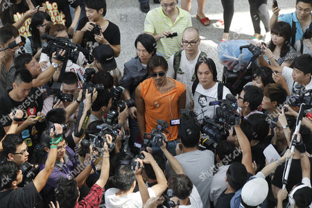 Nicholas Tse Hong Kong actor Nicholas Tse, center, is surrounded by media after arriving Hong Kong airport from Malaysia . Tse was asked about his marital problems with Hong Kong actress Cecilia Cheung, which had been reported in the Chinese media for weeks