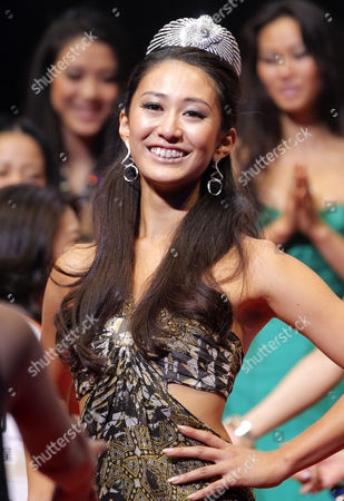 Maria Kamiyama Maria Kamiyama smiles after she was selected the Miss Universe Japan in Tokyo, . The 24-year-old sales clerk from Osaka will represent Japan in the final selections scheduled for Sept. 12, 2011 in Sao Paulo, Brazil