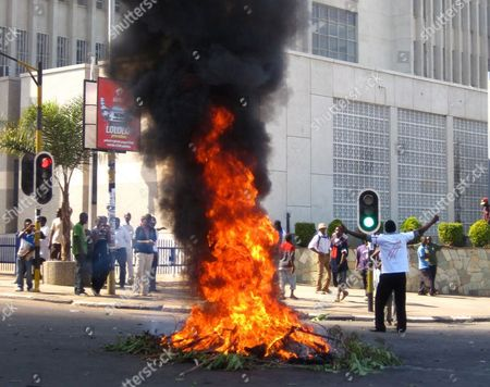 Editorial picture of Malawi Riots, LILONGWE, Malawi