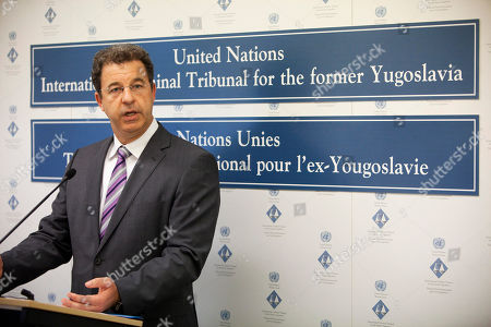Serge Brammertz Prosecutor Serge Brammertz talks to the media at the U.N. Yugoslav war crimes tribunal (ICTY) in the Hague, Netherlands, . Serbia has extradited the last Balkan war-crimes suspect Goran Hadzic, 53, to the U.N. war crimes tribunal where he will stand trial for atrocities stemming from Croatia's 1991-95 war, including the leveling of Vukovar and the massacre of some 200 Croat prisoners of war after the devastation of the town on the Danube