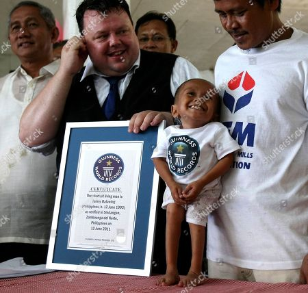 Editorial image of Philippines Shortest Man, Sindangan, Philippines